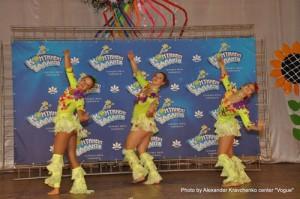 Хореографический ансамбль «Визави» (Харьков) украсил вокальную смену творческого лагеря вокалистов зажигательными танцами.